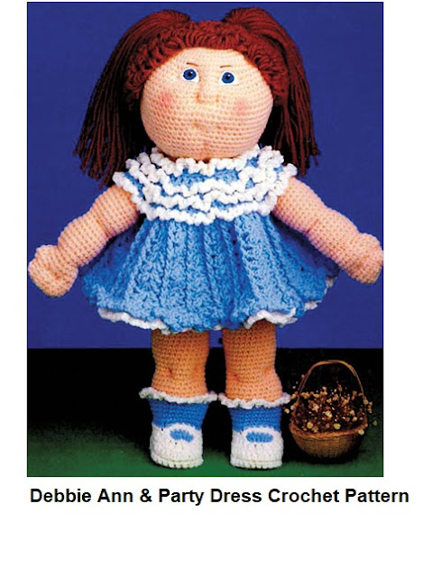 Crochet the Debbie Ann Doll and Her Matching Dress Outfit Patterns