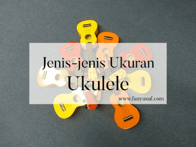 jenis-jenis ukuran ukulele