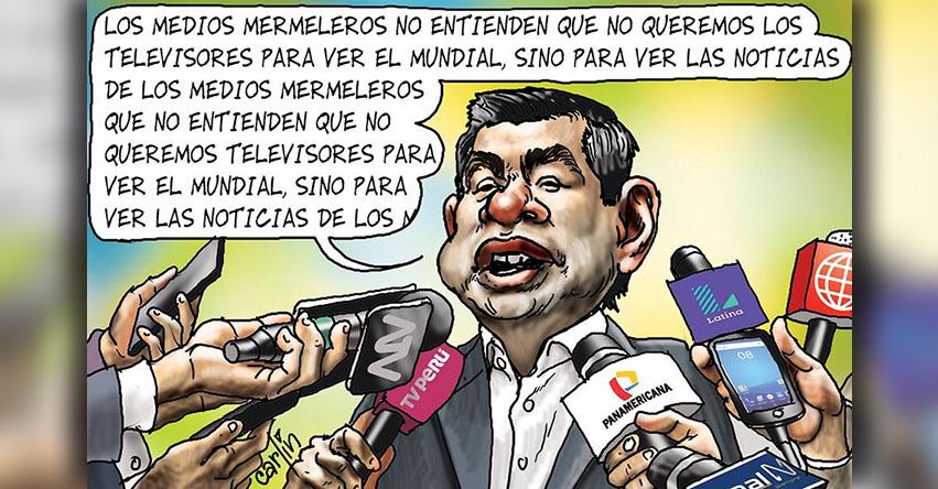 Carlincaturas Jueves 24 Mayo 2018 - La República