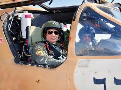 السيسي, زيارة القواعد الجوية, مشروع مستقبل مصر,
