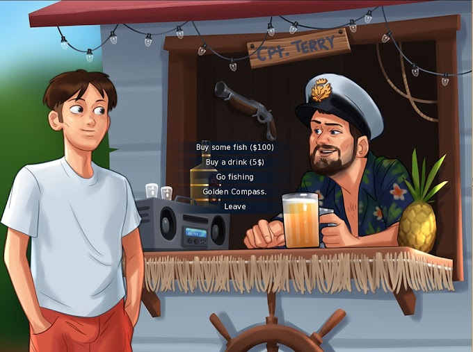 Hướng dẫn chơi Summertime Saga - Captain Terry