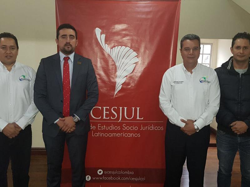 Importante convenio de capacitación de Sindemedilegal con Cesjul.