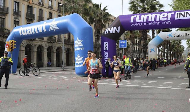 Marta Galimany y Marc Alcalà vencen la Cursa Bombers Barcelona 2018