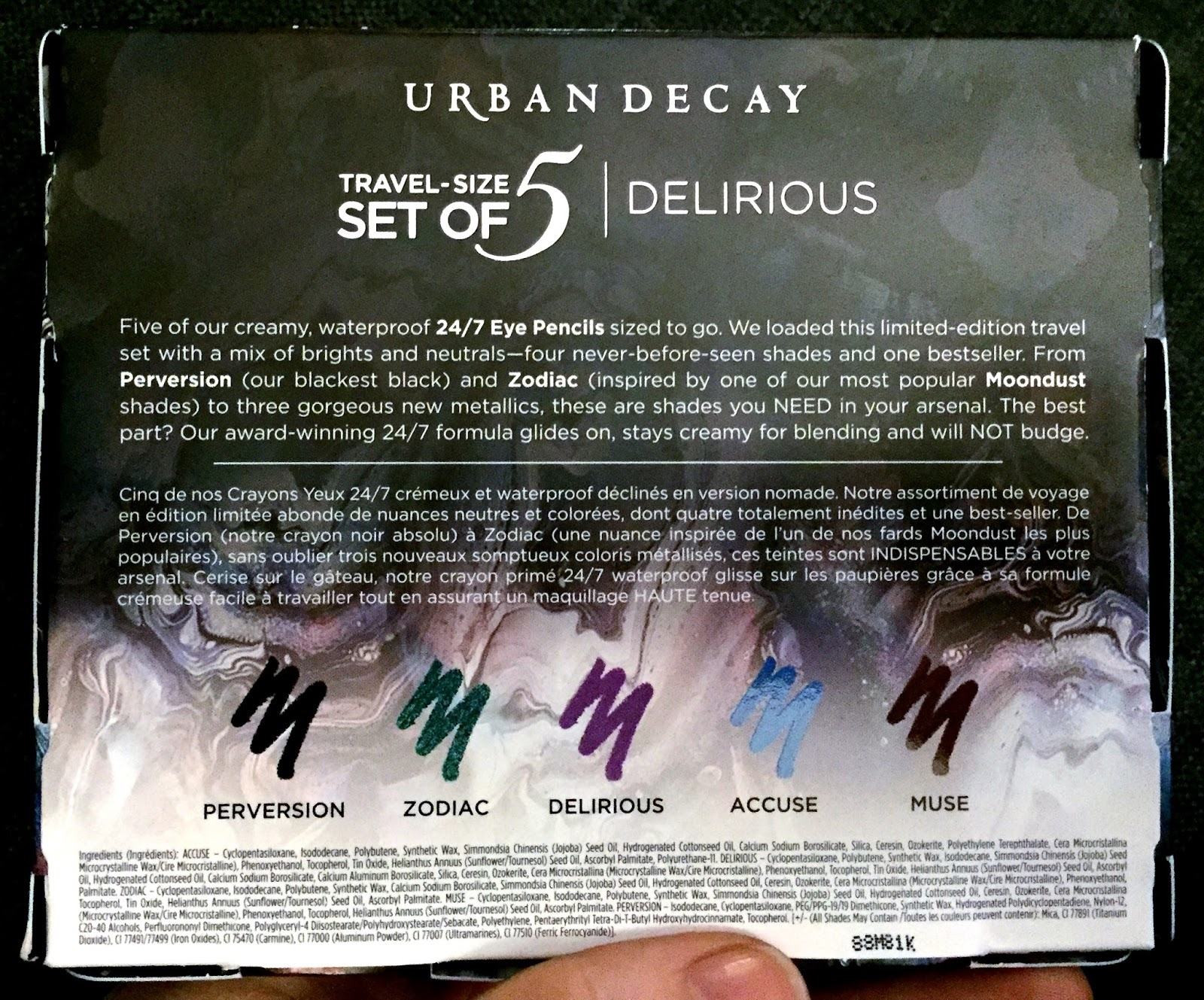 Urban Decay Delirious Eyeliners