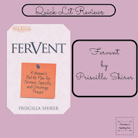 Fervent  by Priscilla Shirer