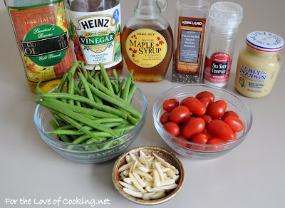 Green Bean Salad with Maple Dijon Vinaigrette