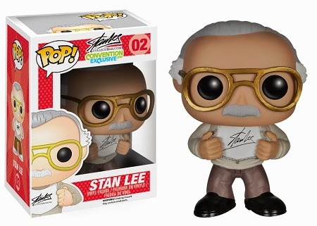 "New York Comic Con 2014 Exclusive ""Signature"" Stan Lee Pop! Vinyl Figure by Funko"