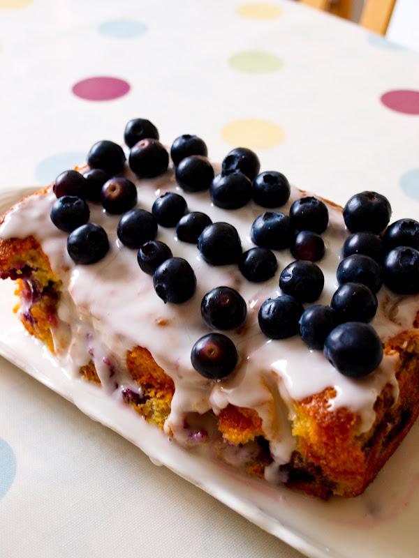 Blueberry Loaf Cake Recipe Uk