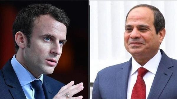 """الرئيس الفرنسي يعزي """"السيسي"""""""