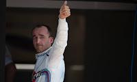 Robert Kubica Hungaroring test F1 Williams