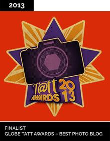 Globe Tatt Awards Best Photo Blog Finalist