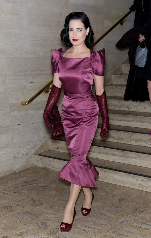 Leather Leather Leather Blog Dita Von Teese Ny 2012