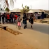 Lol Masquerade Falls Into A Drainage While Walking On The Road (VIDEO)