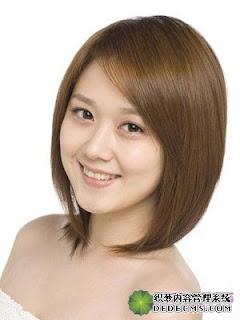 Model Rambut Sebahu Untuk Wajah Bulat