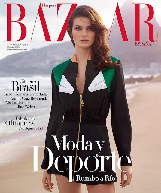 Fashion Model, @ Isabeli Fontana by Thomas Whiteside for Harper's Bazaar España July 2016