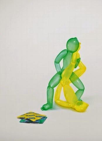Divertidas campañas gráficas de condones