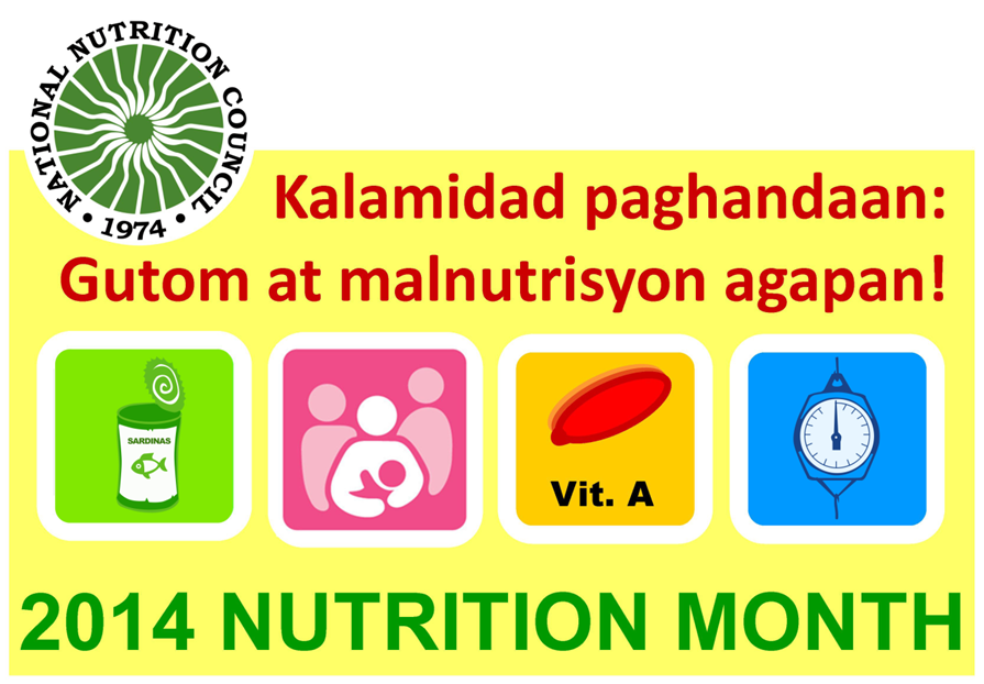 According To PH ACCESS There Are Three Goals Of Celebrating It First Promote Intervention Address Nutritional Needs In Emergencies And Disaster