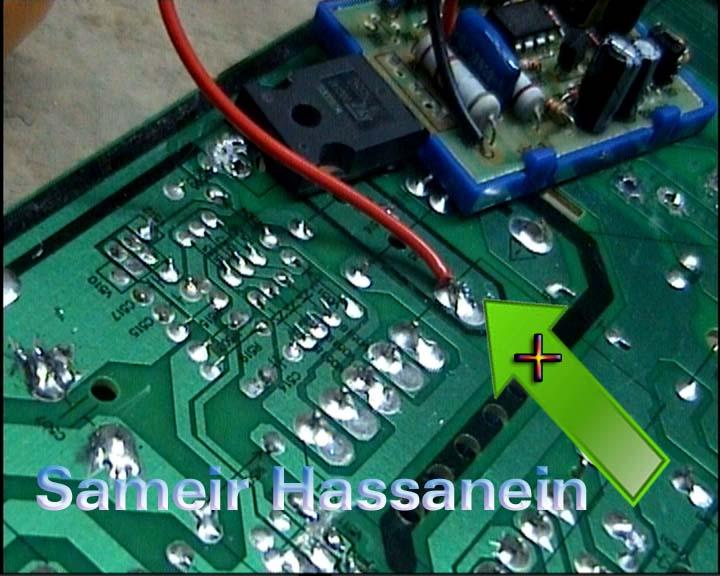 سمير حسانين لصيانة الأجهزة الالكترونية طريقة تركيب دائرة
