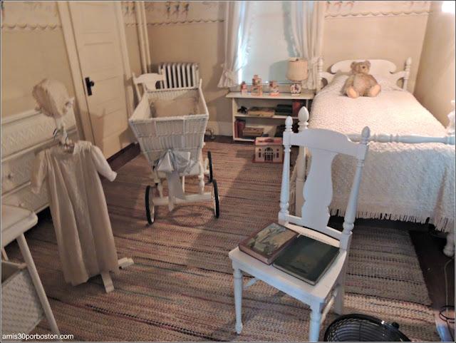 Casa de Nacimiento de Jonh F. Kennedy: Habitación de los Niños