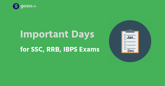 Important Dates and Dates for SSC, RRB exams