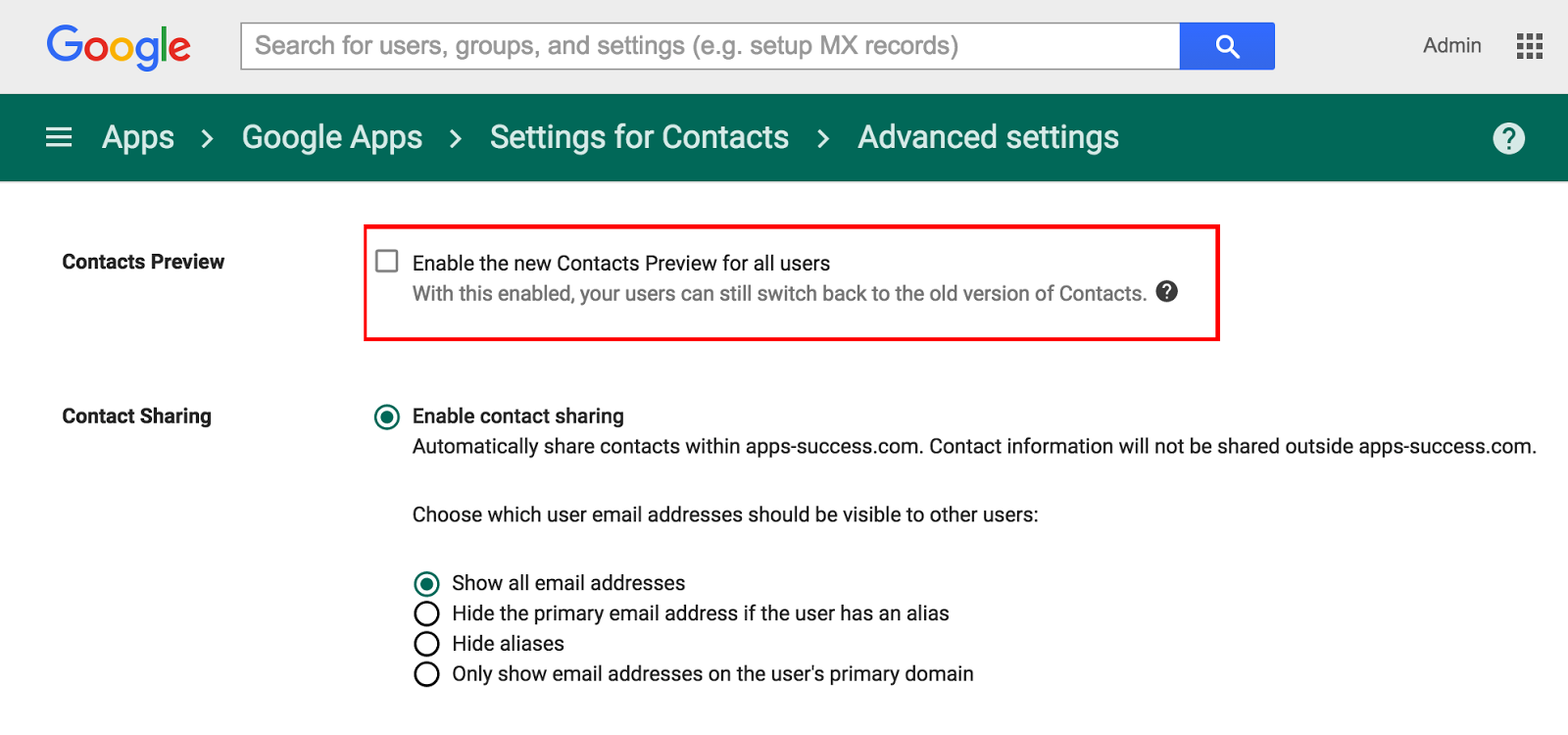 G Suite Updates Blog: Contact importing now available in the