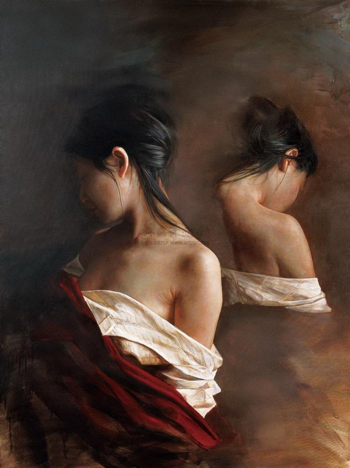Реалистичные картины. Liu Yuanshou 7