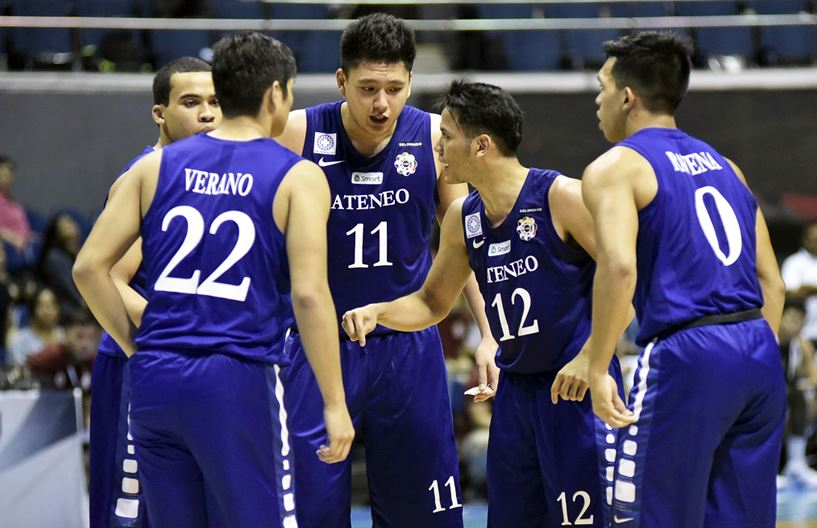 The ADMU Blue Eagles - Philippines fails to secure a podium finish in the Jones Cup
