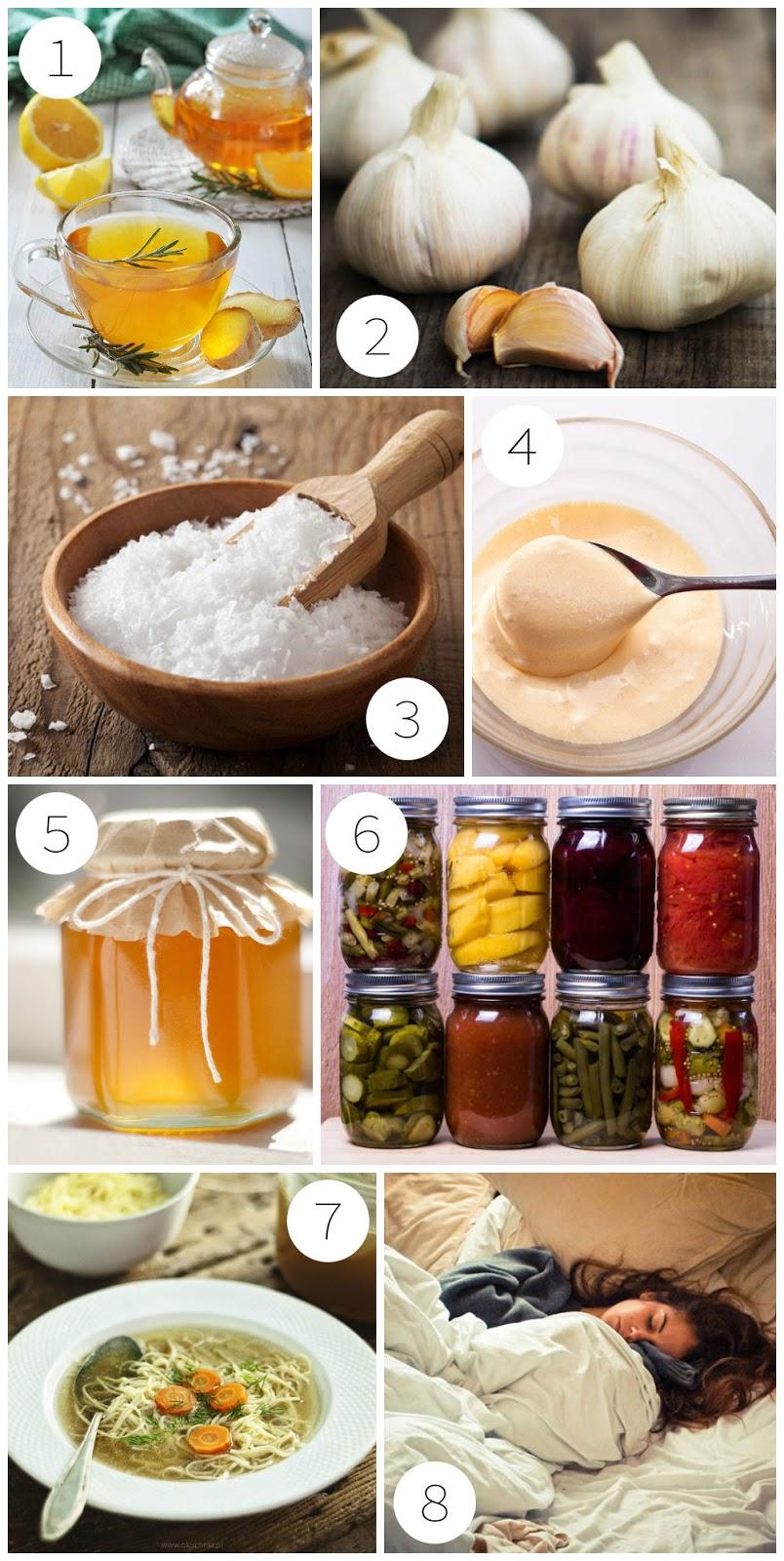 omowe sposoby na przeziębienie, grypę, ból gardła i chrypkę