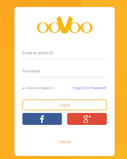 Oovoo login with facebook