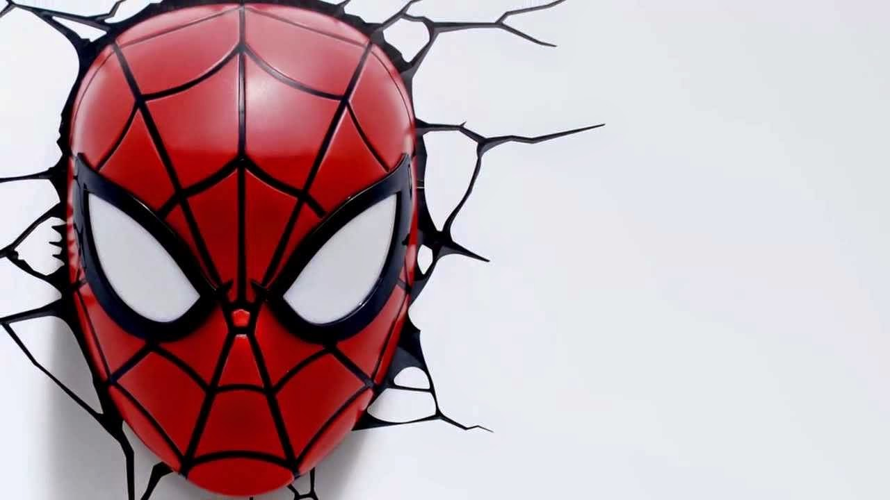 Spider man face