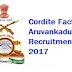 Cordite Factory Aruvankadu Recruitment 2017-2018 Notification / Apply Online www.ofbindia.gov.in