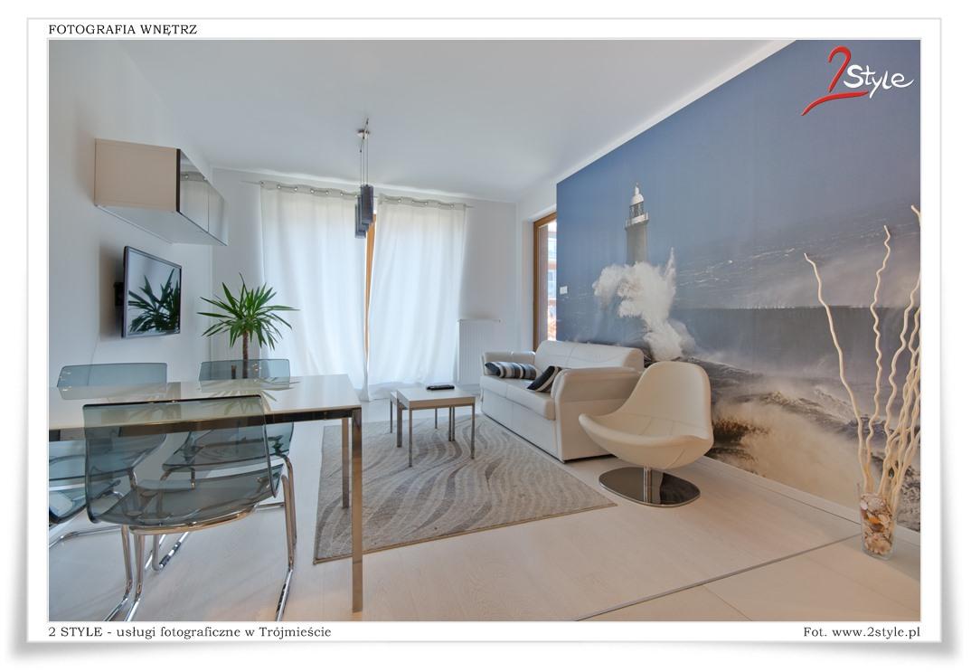 Apartamenty w Gdańsku - fotografia wnętrz