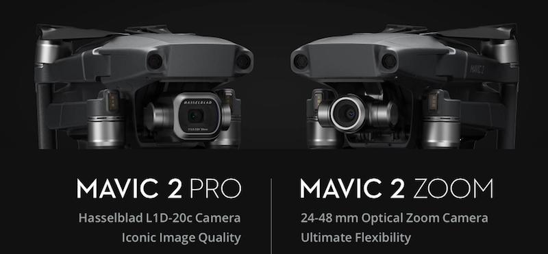DJI Mavic 2 Pro and Mavic 2 Zoom announced