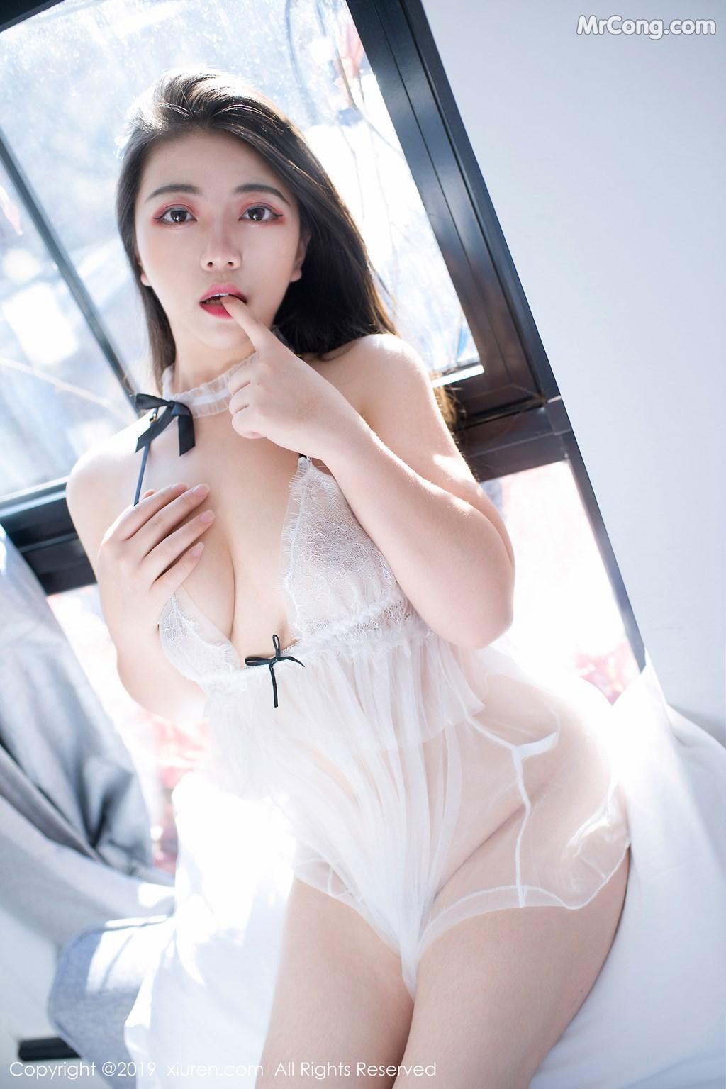 Image XIUREN-No.1402-BABY-MrCong.com-040 in post XIUREN No.1402: 安妮BABY (49 ảnh)