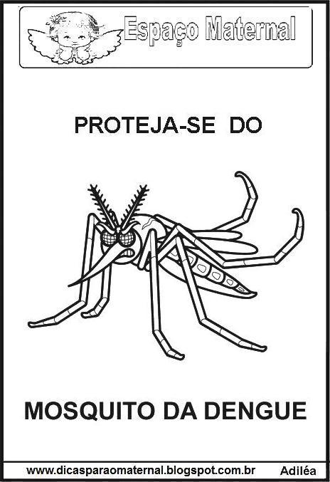 Desenhos Da Dengue Para Desenhar