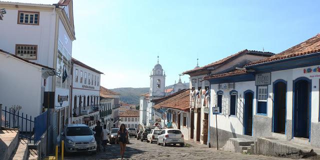 Rua Direita, Diamantina, Minas Gerais, Caminho dos Diamantes, Estrada Real