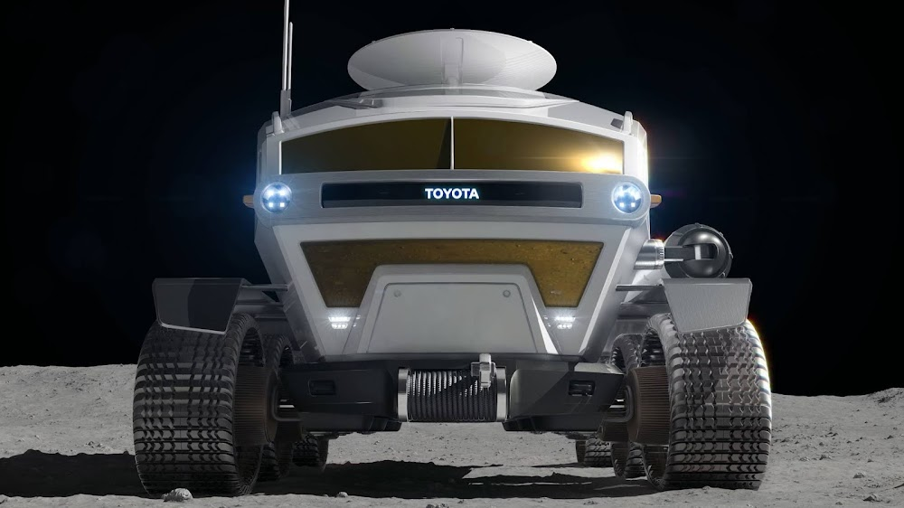 JAXA lunar rover by Toyota (front)