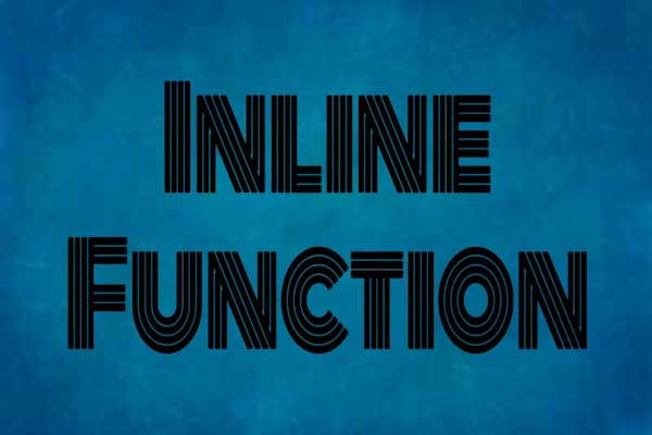 inline function in c++ programming, learn c++ programming