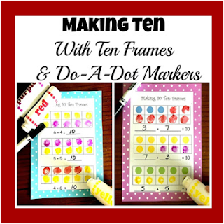 make ten with do a dot markers