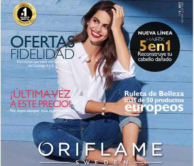 oriflame catalogo C-5 2017 Mexico