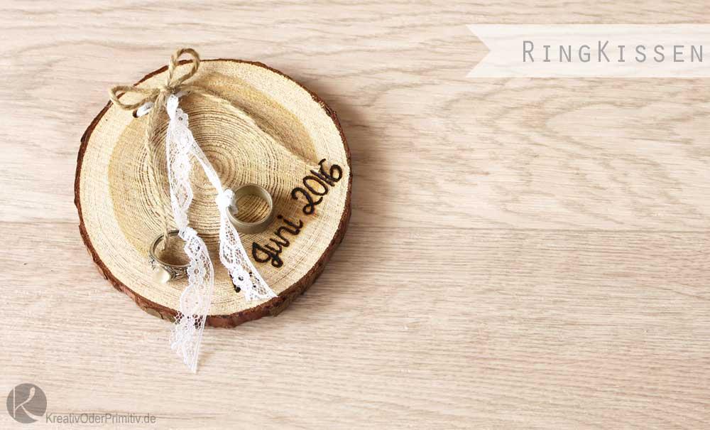 kreativ oder primitiv ringschale ringkissen oder ringbrettchen. Black Bedroom Furniture Sets. Home Design Ideas