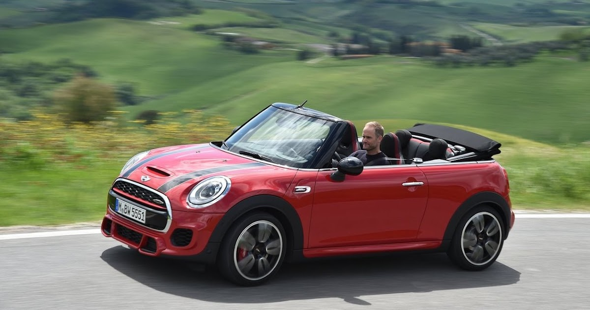la gazette automobile photo du jour mini cabriolet jcw john cooper works convertible. Black Bedroom Furniture Sets. Home Design Ideas