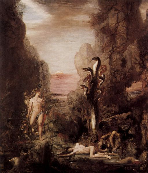 The Lernean Hydra Gustave Moreau (1826-1898)