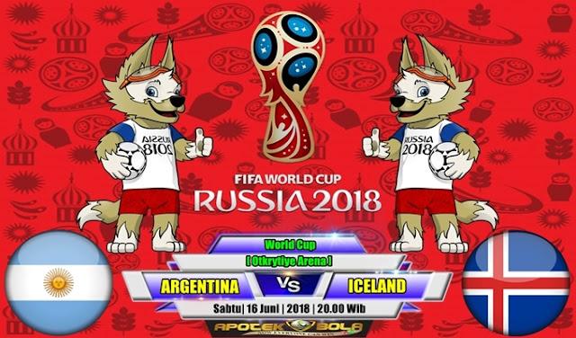Prediksi Argentina vs Iceland 16 Juni 2018