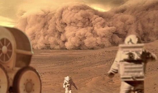 معلومات عن كوكب المريخ Mars بالصور : الكوكب الاحمر