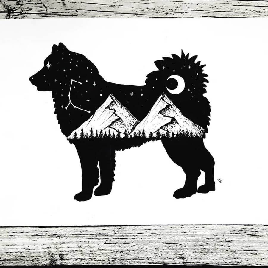 11-Puppy-Constellations-Mandy-Razik-www-designstack-co