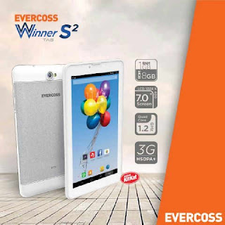 Cara Root Evercoss AT7J+ Winner Tab S2 Tanpa PC