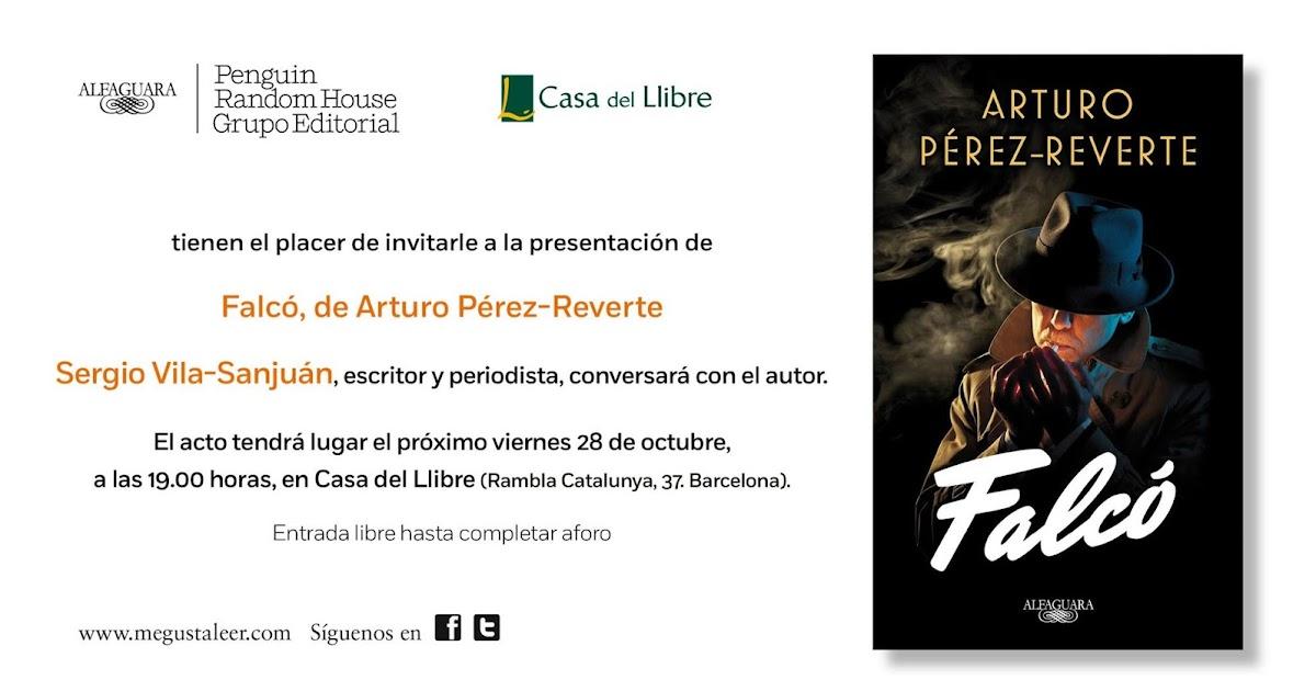Cruce de cables presentaci n de falc de arturo p rez reverte en barcelona - Casa del libro barcelona rambla catalunya ...