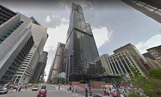 Willis Tower (Sears Tower) is a skyscraper in Chicago USA