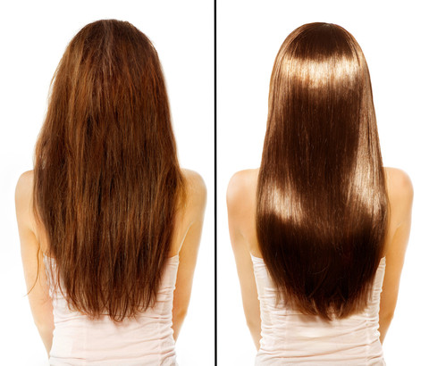 Strong and Shiny Hair of using ARGANLife Oil